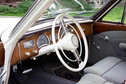 Oldtimer,  Lenkrad, Innenraum Auto