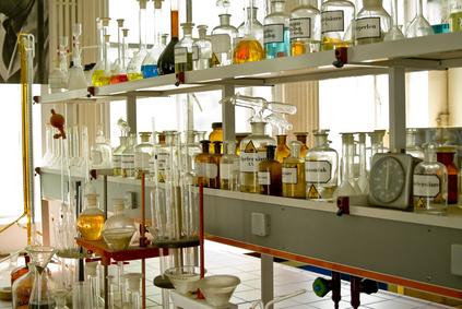 Historisches Chemielabor